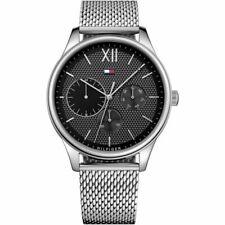 New Tommy Hilfiger Men's Damon Chronograph Silver Watch 1791415