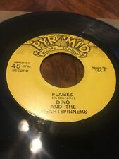 DINO & HEARTSPINNERS : Flames/Shirley  M-