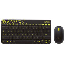 Mini Logitech 2.4G Wireless Gaming Keyboard & Moe For Computer PC Multimedia HOT