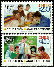 CHILE, UPAEP, EDUCATION AND ALPHABETIZATION, MNH, YEAR 2002