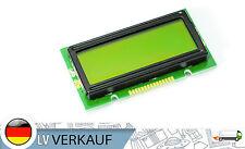 mini 1202 12x2 Zeichen LCD Display Modul HD44780 gelbes BL für Arduino