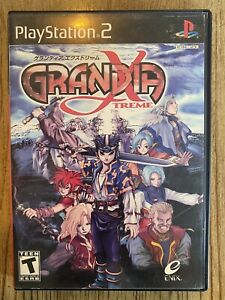 Grandia Xtreme - Ps2 ( Playstation 2 ) Complete W/box & Manual !