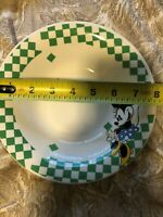 Vintage Disney Minnie Mouse 7 3/4 Salad Plate Gibson Overseas Gabbay Mickey & Co