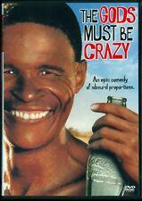 The Gods Must Be Crazy DVD Jamie Uys Cult An Epic Comedy + Bonus WideScreen