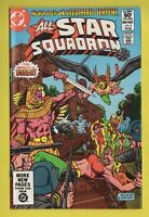 All-Star Squadron No. 6 JSA 1981/82 DC Comics Hawkgirl Bondage Cover