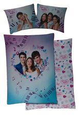 Disney Violetta inflexión ropa de cama set 135 x 200 cm 100% algodón