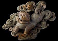 Chinese Soapstone Buddhist Guardian Lion Carving Foo Dog Fu Chi Shi China