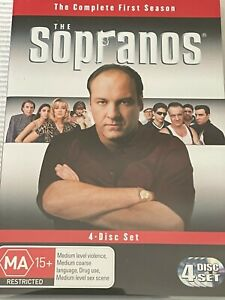 The Sopranos The Complete First Season DVD Like New