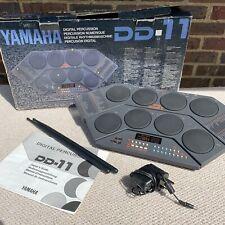 Yamaha DD-11 Drum Machine Digital Percussion Pads Programmable BOXED + MANUAL