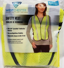 New Sealed West Chester Protective Gear High Visibility Reflective Safety Vest