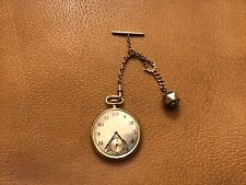 Pocket Watch With Fob Vintage Equestrian Jewelry Longines