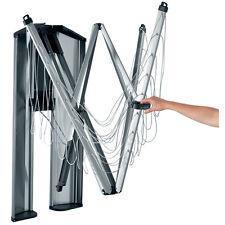 Brabantia Wäschespinne WallFix mit Metall Schutzbox 24m Leinen Geniale Idee