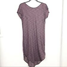 Lululemon Size 6 Space Dye Short Sleeve Pullover Dress Athletic Womens