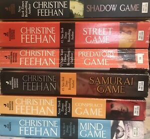 lot GAME ghostwalker series (6 pb) CHRISTINE FEEHAN