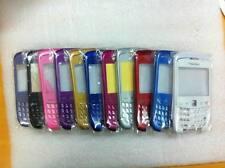 Nuevo-Blackberry Curve 9300 9330 Carcasa De Tablero 5 un. - black/green/pink / Blanco