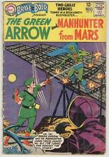 Brave and Bold #50 November 1963 G/VG Green Arrow/Martian Manhunter