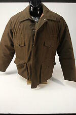 Herters Hudson Bay Goose Down Insulated Hunting Jacket Water Repellant Mens Sz L