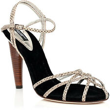 $610 D&G DOLCE & GABBANA Snake Sandal 11 / 41 #44