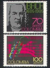 Colombia 1986 Bach/Handel/Schutz/Music/Composers/People/Entertainment 2v n38778