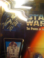 Star Wars Power of the Force R2-D2 SIGNED Kenny Baker CASE NEW