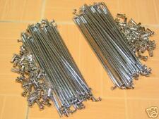 Suzuki A50 A70 A80 AC50 AS50 M10 M12 M15 M15D M30 M31 Fr.&Rr. Chrome Spoke Set