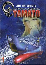 LA NUOVA CORAZZATA YAMATO n.1 di LEIJI MATSUMOTO - HAZARD EDIZIONI