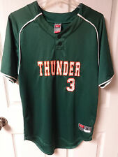 Vintage Thunder Softball or Baseball Rec League Jersey Sewn Letter Men S by Nike