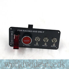 High Performance Race Car Ignition Kit  Engine Start Push Button Switch Panel