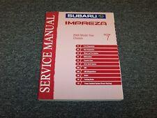 2004 Subaru Impreza Shop Service Repair Manual Section 7 Chassis RS TS 2.5L
