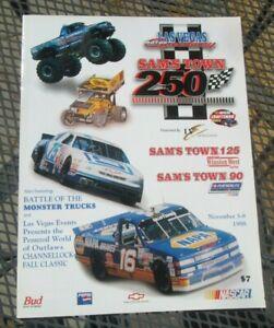 NASCAR Craftsman Truck Winston West Featherlite LV Motor Speedway 1998 Program