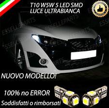 COPPIA LUCI POSIZIONE 5 LED SEAT IBIZA V ST T10 W5W CANBUS 100% NO ERROR