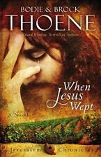 When Jesus Wept (The Jerusalem Chronicles)-ExLibrary