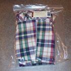 Longaberger Woven Traditions Plaid OVAL LAUNDRY Basket Liner ~ Brand New in Bag!