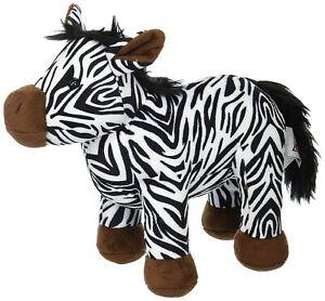 """Webkinz Baby Zebra Plush Toy Zebra, 8.5"""""""