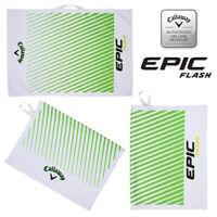 Callaway Epic Flash Large Microfibre Tour Golf Towel 30'' x 20'' - NEW! 2019