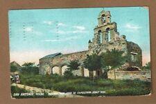 San ANtonio,TX Texas, Mission San Juan de Capistrano, built 1731 pc used 1909