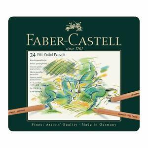 Faber Castell Pitt Pastel Pencil 24 Tin