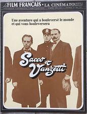 FILM FRANCAIS Cinématographie Française SACCO ET VANZETTI Gian Maria Volonte *