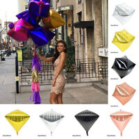 24'' 4D Foil Balloon Diamond/Cube Shaped Birthday Wedding Party Decoration Kit