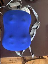 Brookstone  I-NEED  Lumbar Back Shiatsu Massage Pillow Massager w/Travel Bag