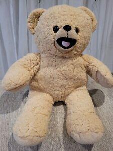 "Build a Bear Workshop 15"" Snuggle Fabric Softener Teddy Bear Plush RARE HTF BAB"