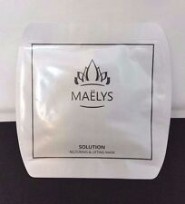 MAELYS  Restoring & Lifting Face Mask - 4 masks  - Great Results