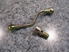 NEW GENUINE PORSCHE 928 OIL PIPE LINE FOR CHAIN TENSIONER CYLINDERS 1-4 AND BOLT