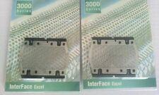 2PCS Shaver Razor Foil Screen For Braun 5604 5607 5608 5609 BS550 m60s m90s New