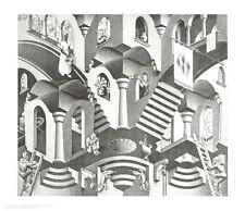 MC Escher Konkav und Konvexe Poster Kunstdruck Bild 55x65cm