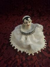 Vintage/Antique Art Deco Style Small Porcelain Half Doll/Pin Cushion Nice