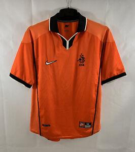 Holland Home Football Shirt 1998/00 Adults Medium Nike B725