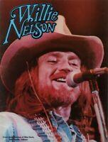WILLIE NELSON 1978 STARDUST TOUR CONCERT PROGRAM BOOK BOOKLET / NMT 2 MINT