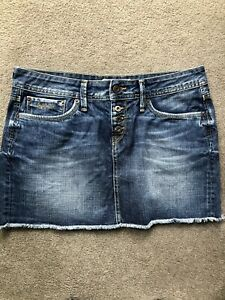 Pepe Jeans Ladies Denim Skirt BNWOT Size L / 10-12