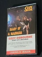 Ozzy Osbourne ~ Diary of a Madman ~ Cassette Tape CrO2  A23